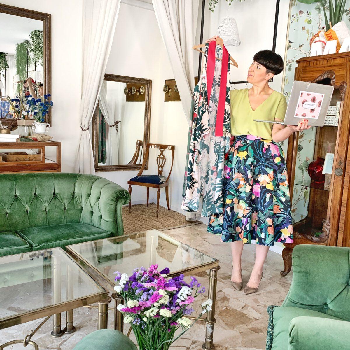 home couture, il servizio di video consulenza di Sara